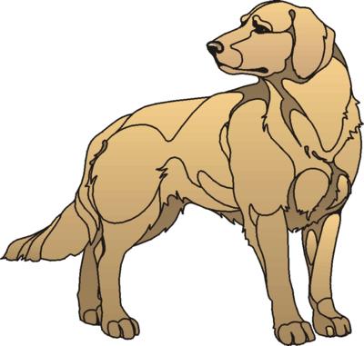 400x381 Dog Clip Art