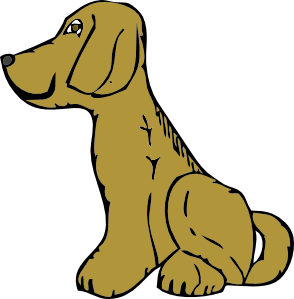 294x299 Dog Side View Png, Svg Clip Art For Web