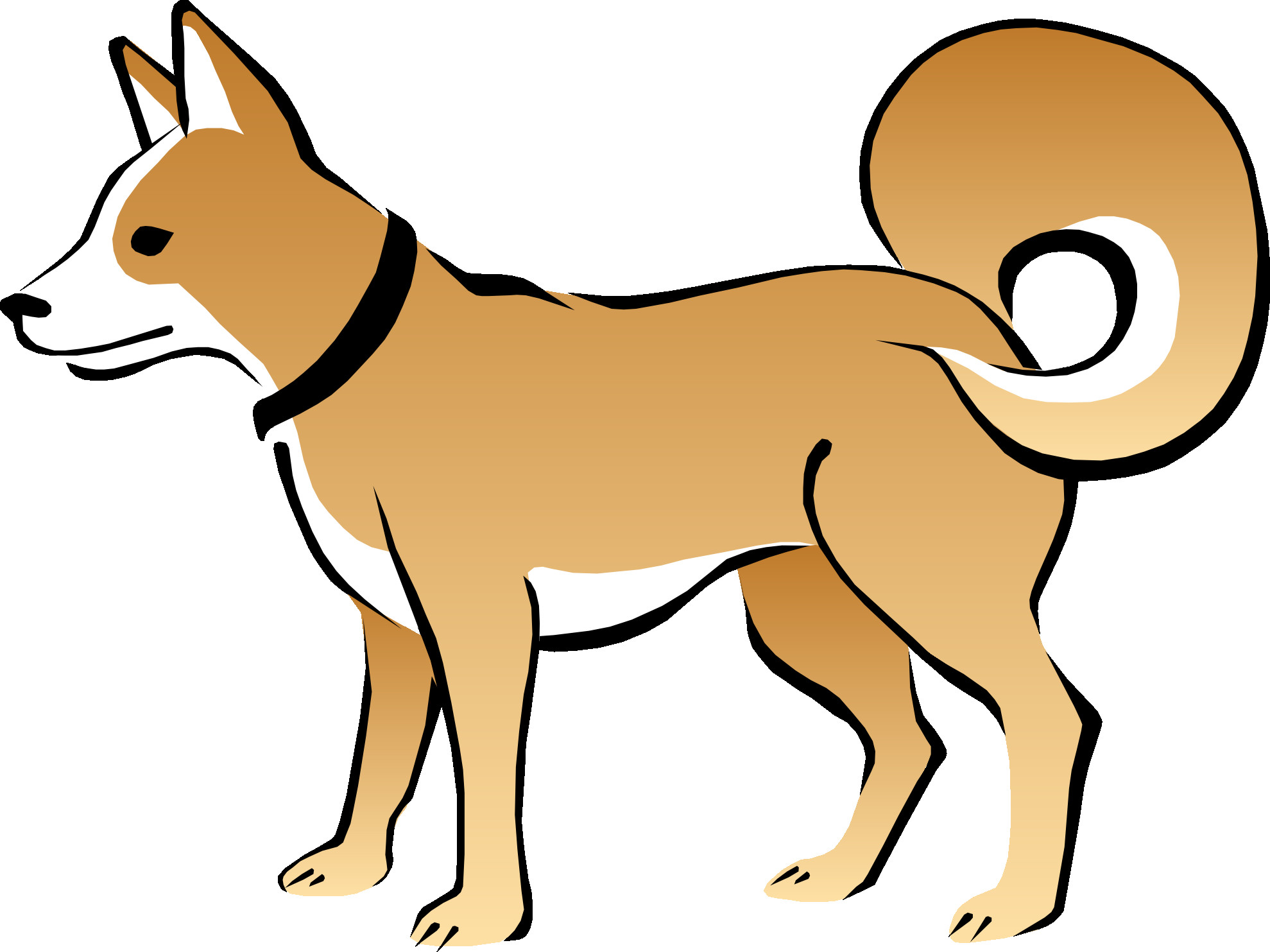 1979x1483 Cute Puppy Dog With Bone Free Clip Art Noticeable Png Clipart