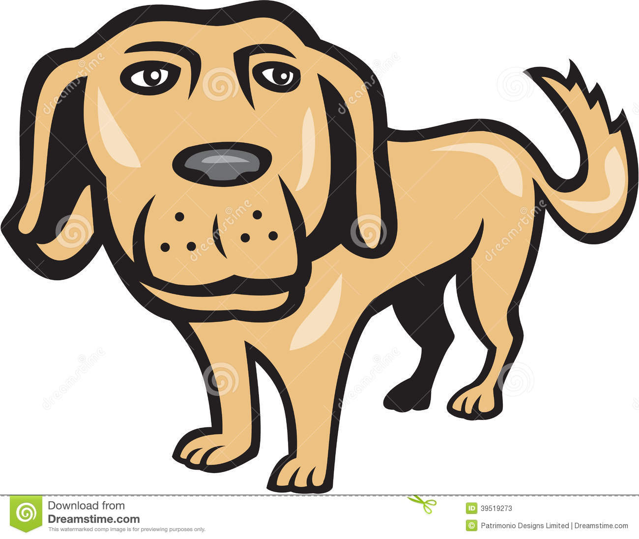 1300x1096 Golden Retriever Clipart Big Dog Free Collection Download