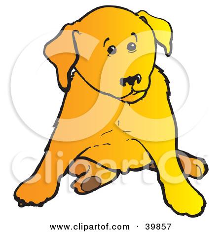 450x470 Lab Puppy Clipart