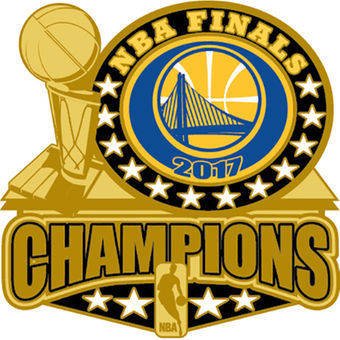 340x340 Golden State Warriors 2017 Nba Champions Pin