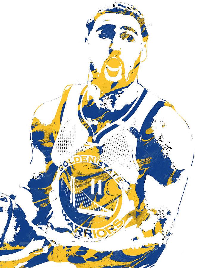 692x900 Klay Thompson Golden State Warriors Pixel Art 3 Mixed Media By Joe