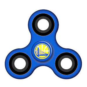 300x300 Nba Official Golden State Warriors Blue Diztracto Spinnerz Fidget