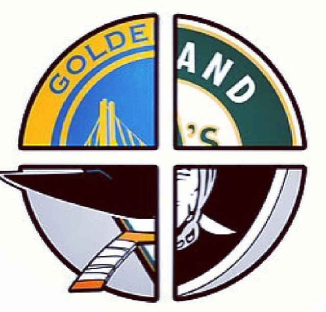 639x612 Oakland A'S, Oakland Raiders And San Jose Shark Are My Favorite