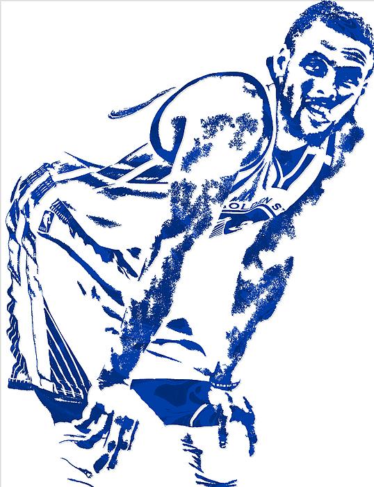 538x700 Stephen Curry Golden State Warriors Pixel Art 4 Spiral Notebook