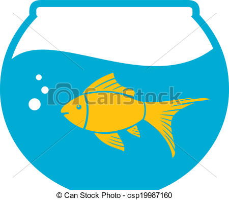 450x393 Goldfish In A Bowl, Bowl And Fish, Golden Fish In Aquarium Clip