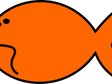 220x165 Goldfish Clip Art Goldfish Clip Art
