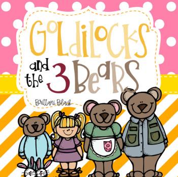 350x347 Goldilocks And The Three Bears Word Teaching Resources Teachers