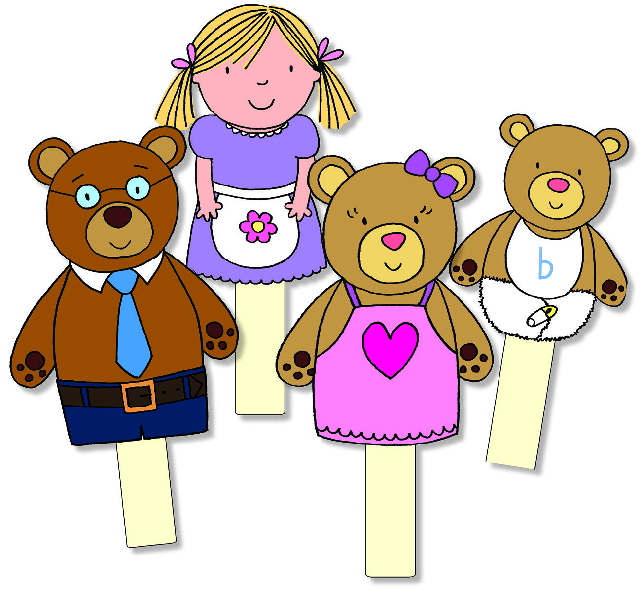 goldilocks and the three bears clipart at getdrawings com free for rh getdrawings com goldilocks clip art free goldilocks house clipart