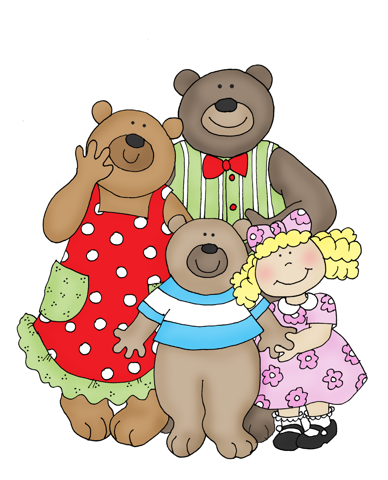 goldilocks and the three bears clipart at getdrawings com free for rh getdrawings com Three Bears Clip Art goldilocks and the three bears clipart black and white