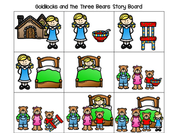 350x263 Goldilocks And The Three Bears Pre K And K Literacy And Math