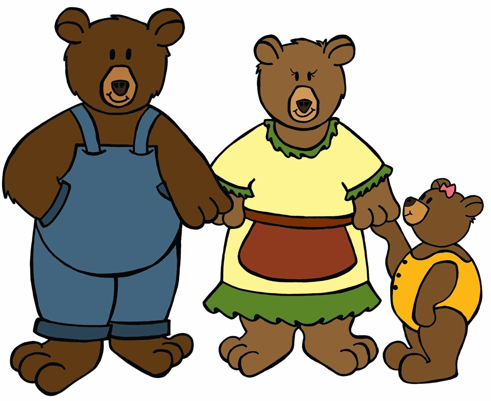goldilocks and the three bears clipart at getdrawings com free for rh getdrawings com clipart goldilocks and the three bears