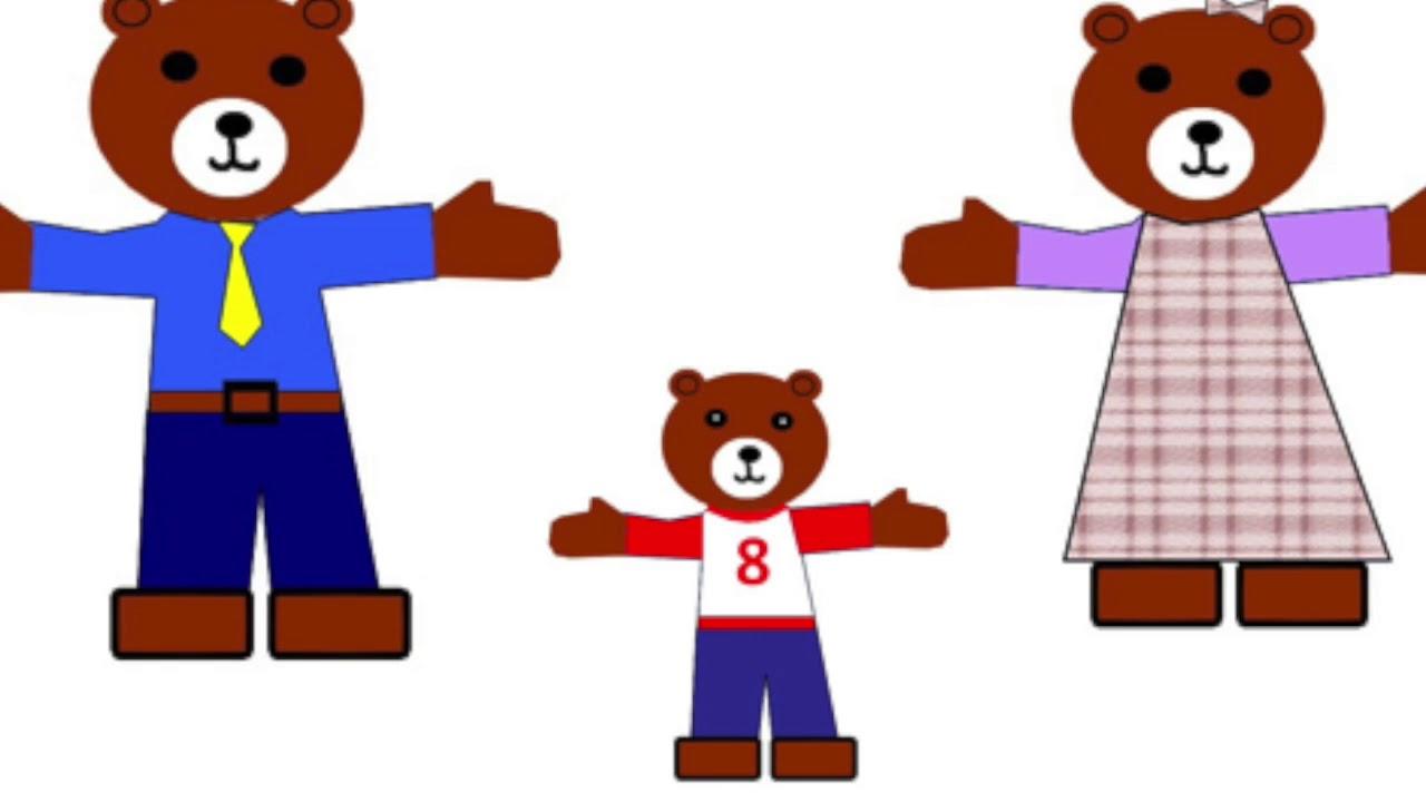 1280x720 Goldilocks And The Three Bears
