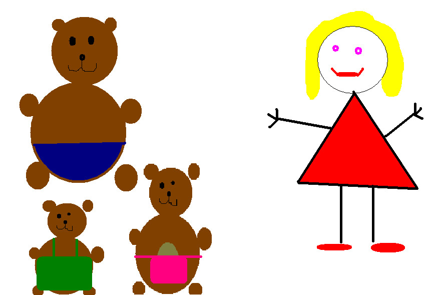 881x589 Goldilocks And The Three Bears By Blonde Mobile Nz