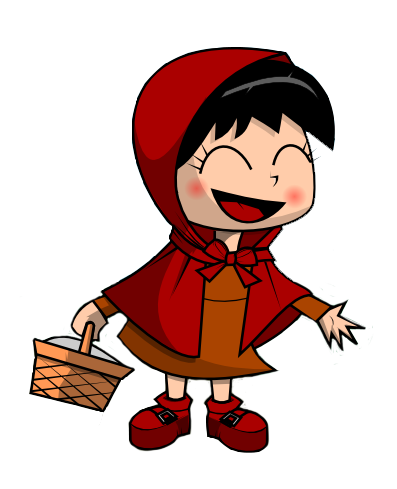 397x489 Red Riding Hood Clipart