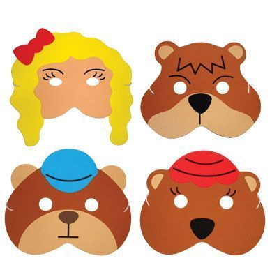 400x400 These Foam Childrens Masks Are Great For Telling And Acting Out