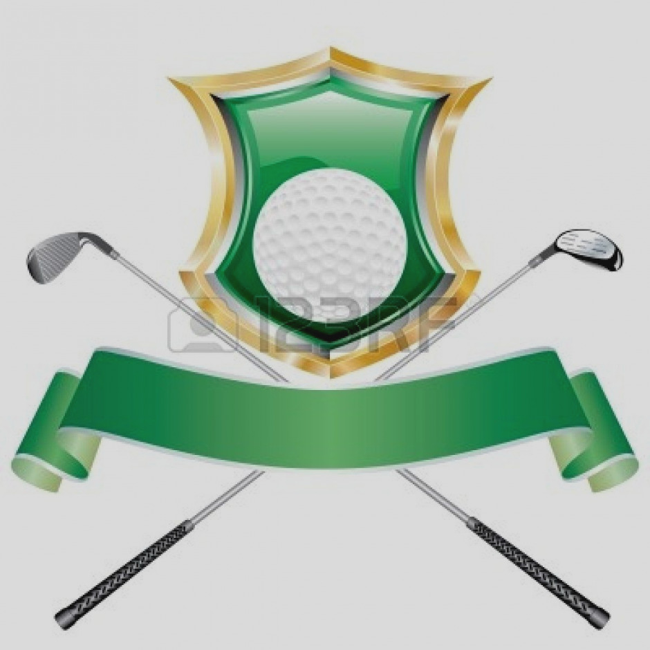940x940 Collection Golf Clip Art Closeup Of Ball And Club Free
