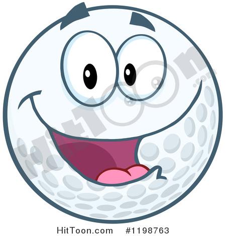 450x470 Golf Ball Clipart