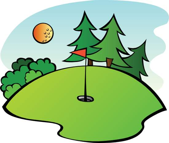 550x468 Free Clip Art Golf Clipartlook