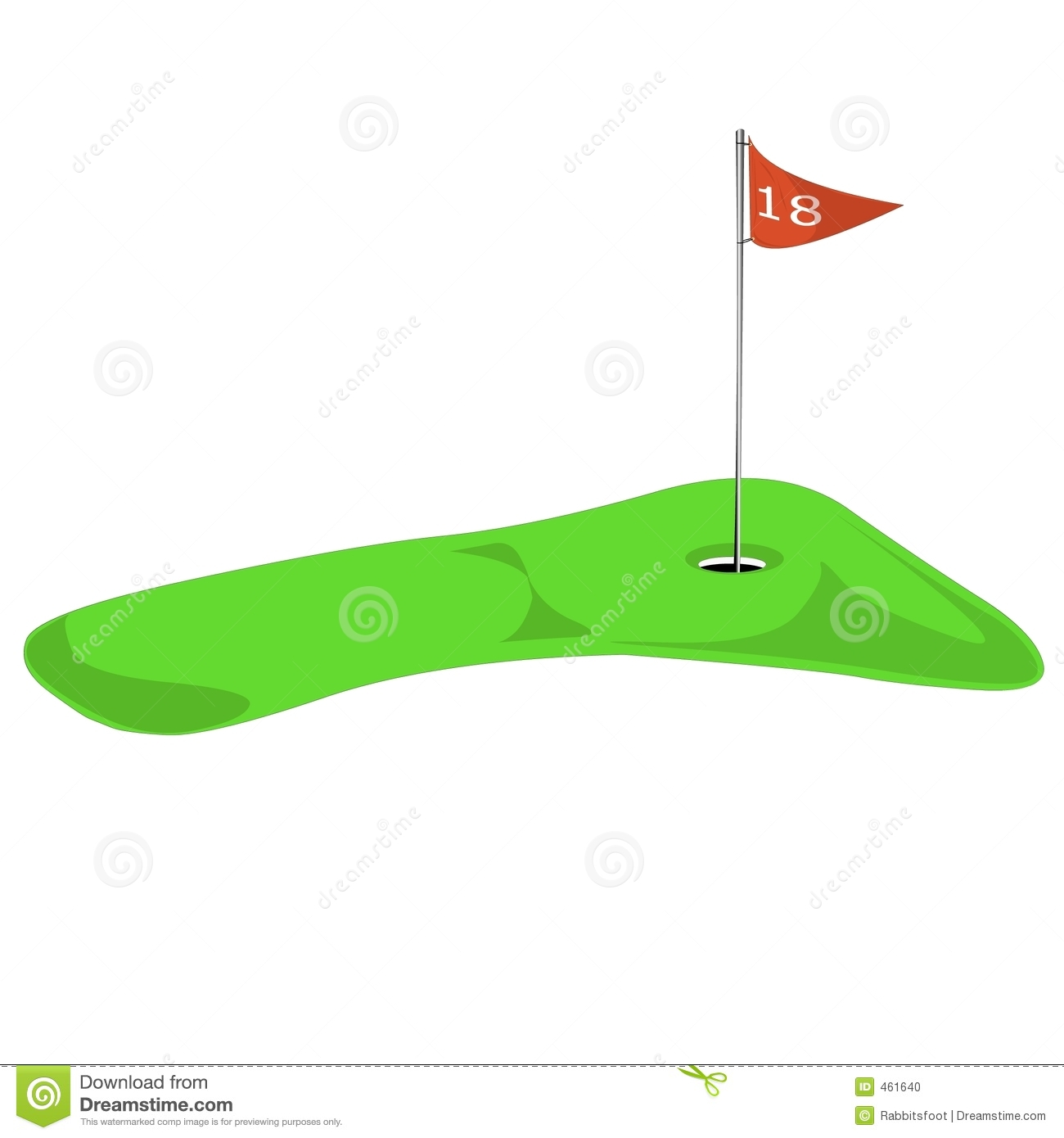 1300x1390 Golf Course Clipart Putting Green