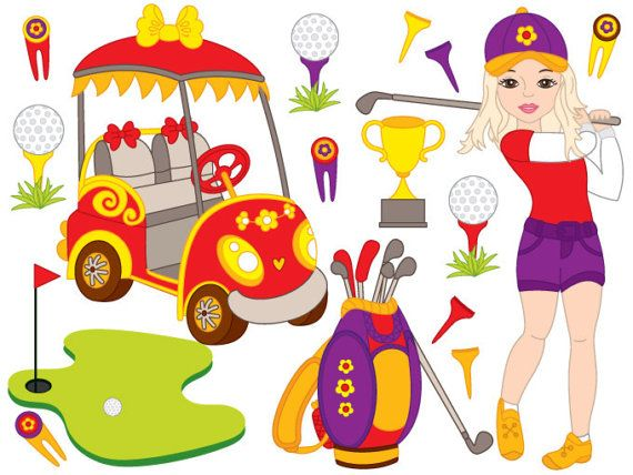 570x428 23 Best Clipart Little Kids Sport Golf Images