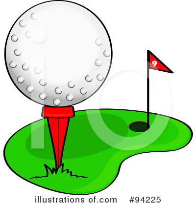 400x420 Golf Cartoon Clipart