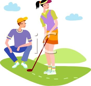 350x333 Gallery Couples Golf Clip Art,