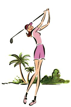 235x352 Lady Golfer Clip Art Download Free Golf Clipart Graphics Golf
