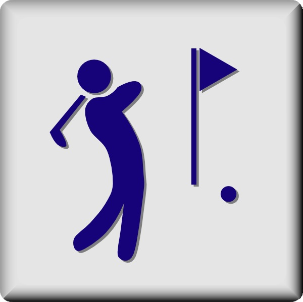 Golf Club Clipart