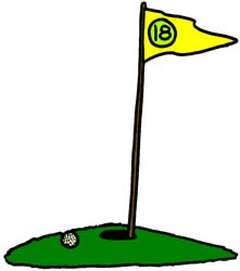 221x250 Golf Cartoon Clipart