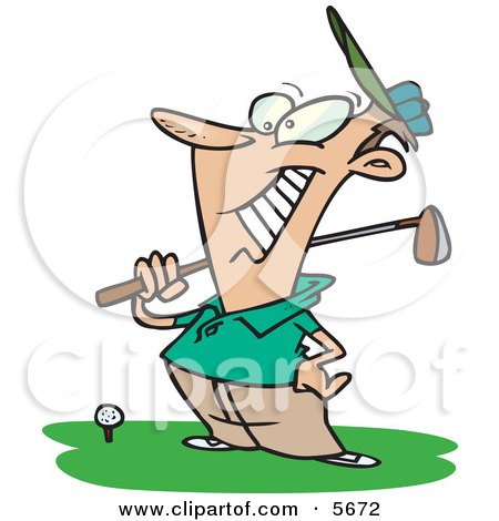 450x470 Royalty Free (Rf) Golf Club Clipart, Illustrations, Vector Graphics
