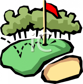343x350 Free Golf Course Clip Art Golf Club Clip Art. Royalty Free Golf