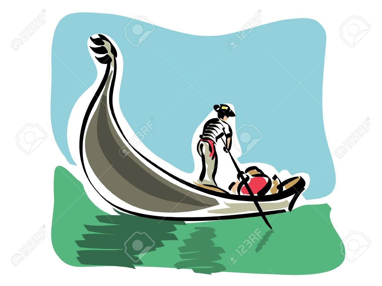 1300x974 Gondola Clipart Cartoon