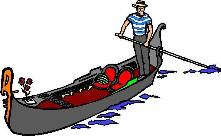731x451 Gondolas Artwork Clip Art Viaggi E Svago Trasporti Barche
