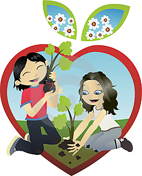 283x350 Doing Good Deeds Clip Art