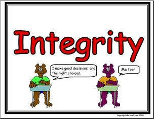 304x236 Integrity Clipart