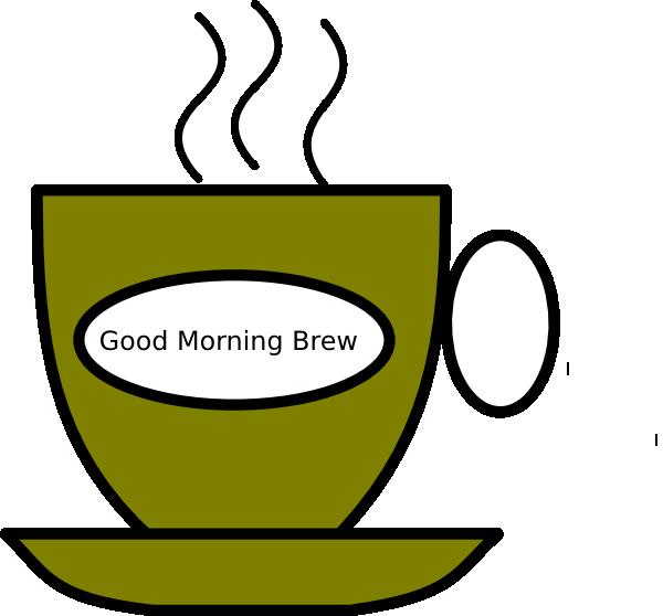 600x558 Good Morning Brew Clip Art