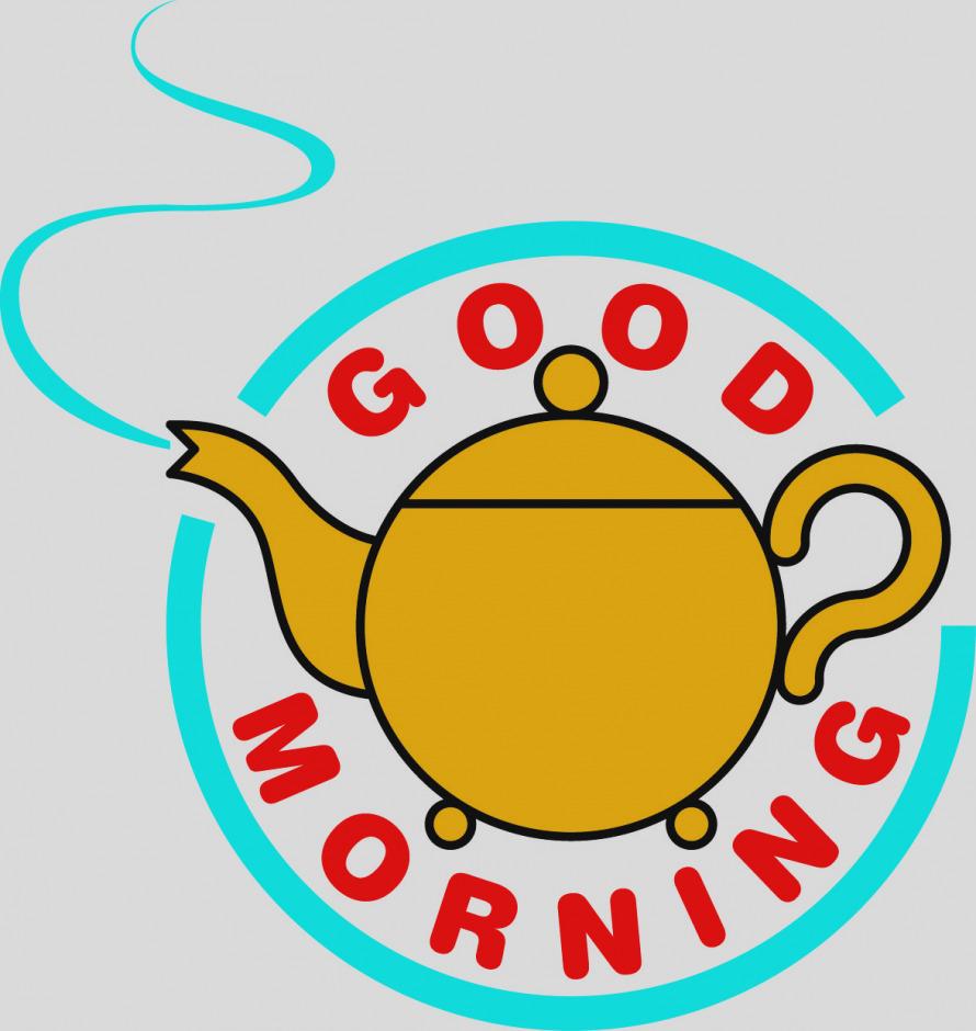 890x940 Elegant Good Morning Clip Art 7 670 Stock Vector Illustration