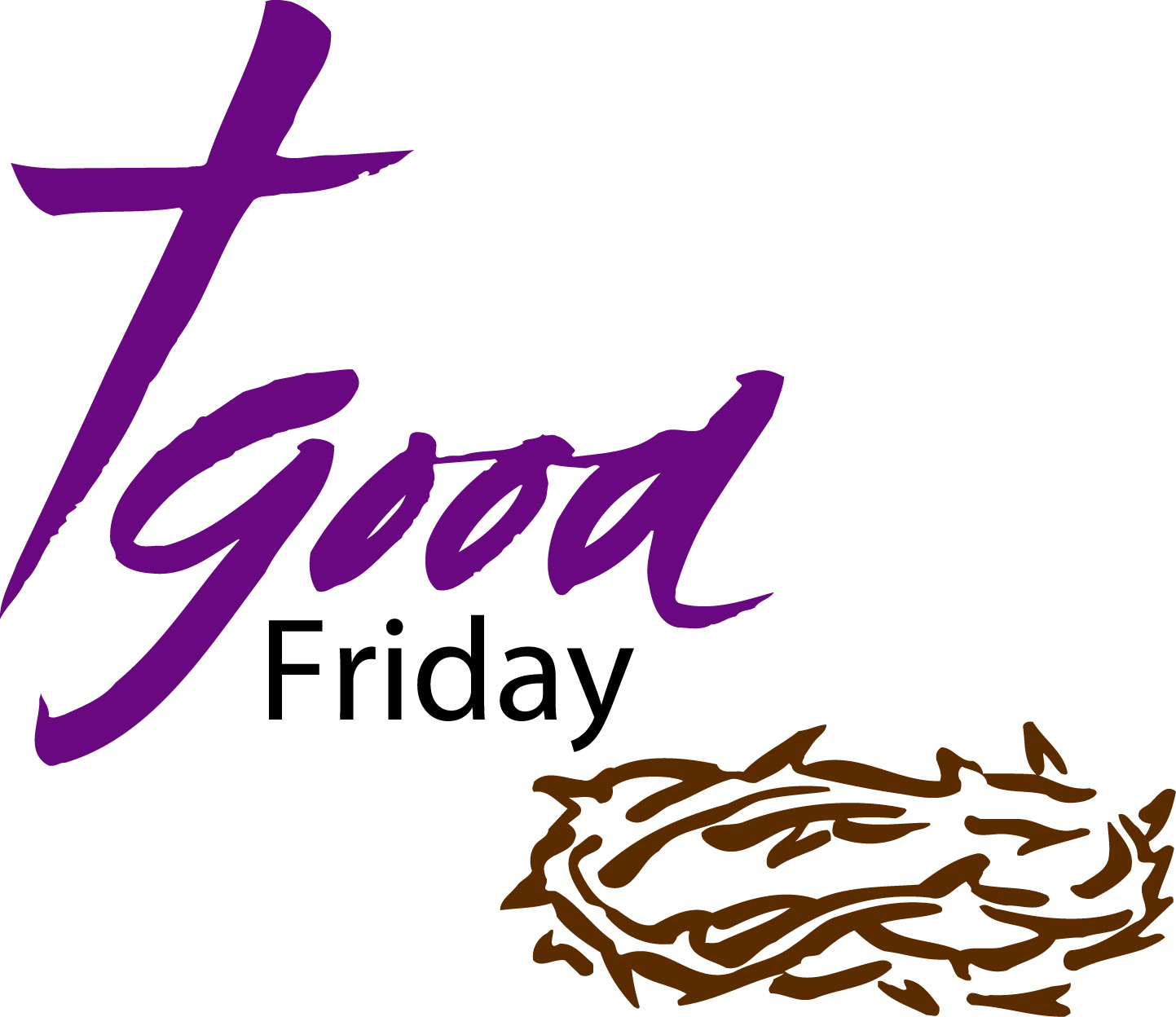 1443x1248 Good Friday Blessed Clipart