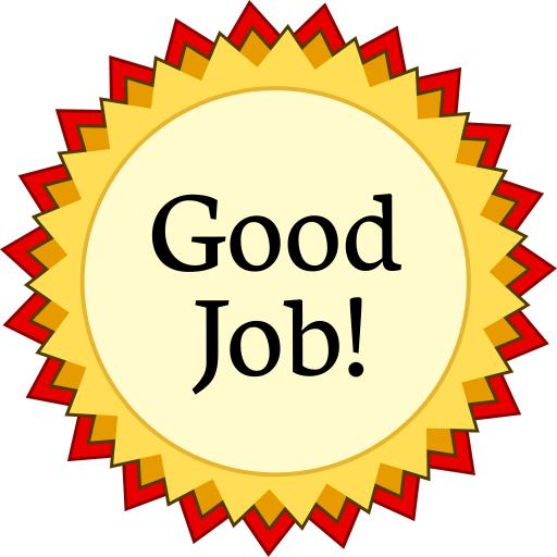 512x512 Award Medal Red Good Job