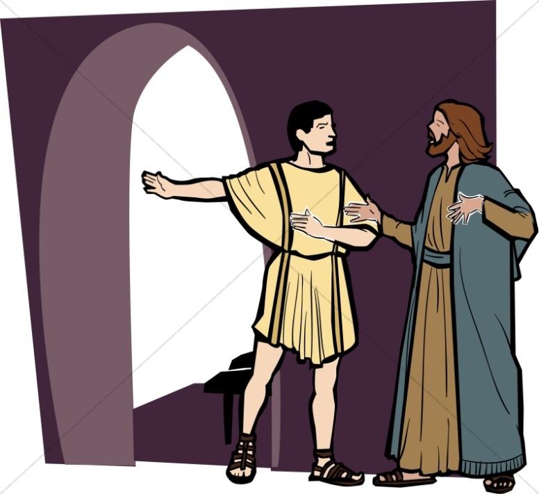 776x711 Parable Of The Good Samaritan New Testament Clipart