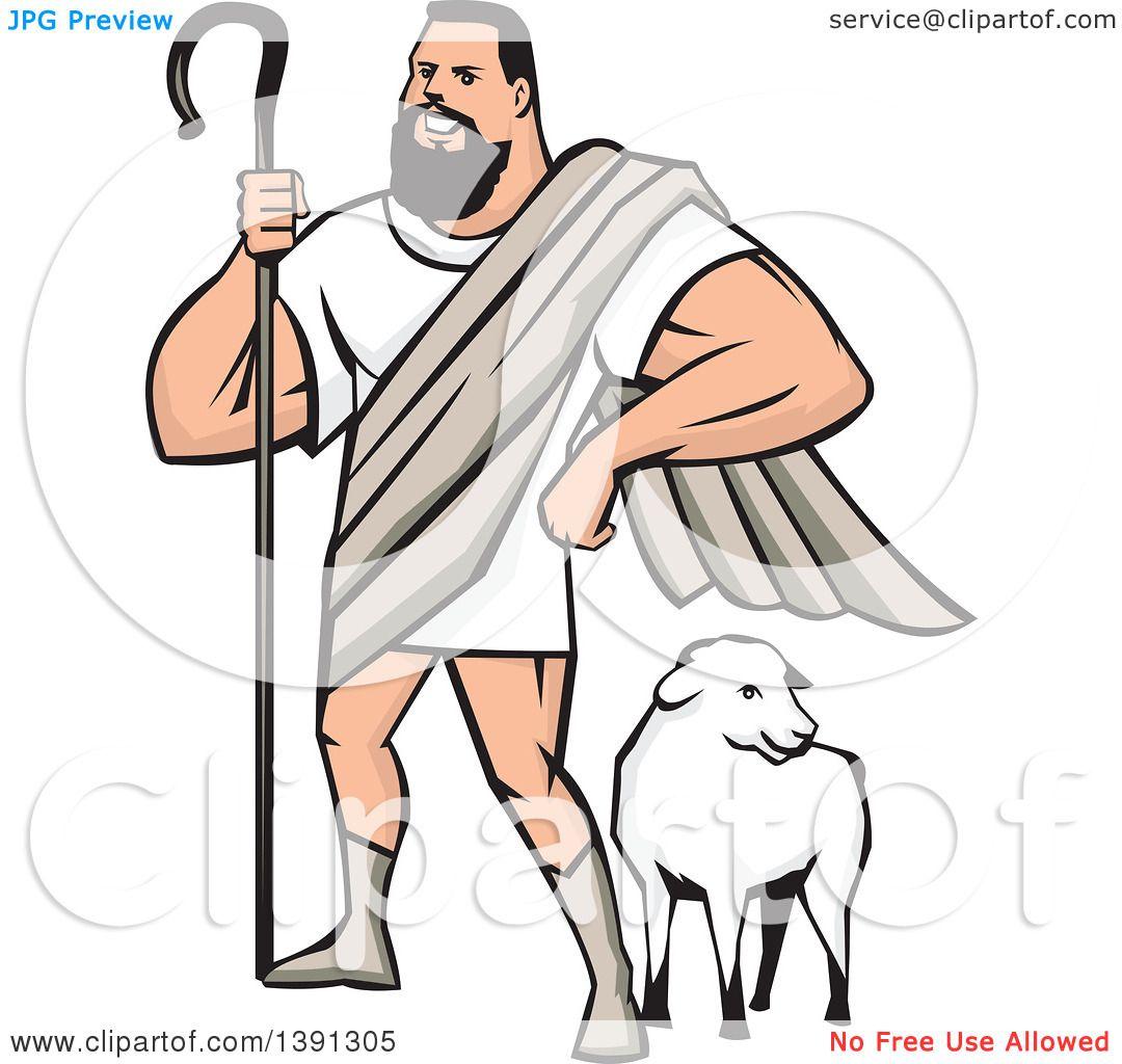 1080x1024 Clipart Of Cartoon Muscular Super Hero Shepherd Standing Over