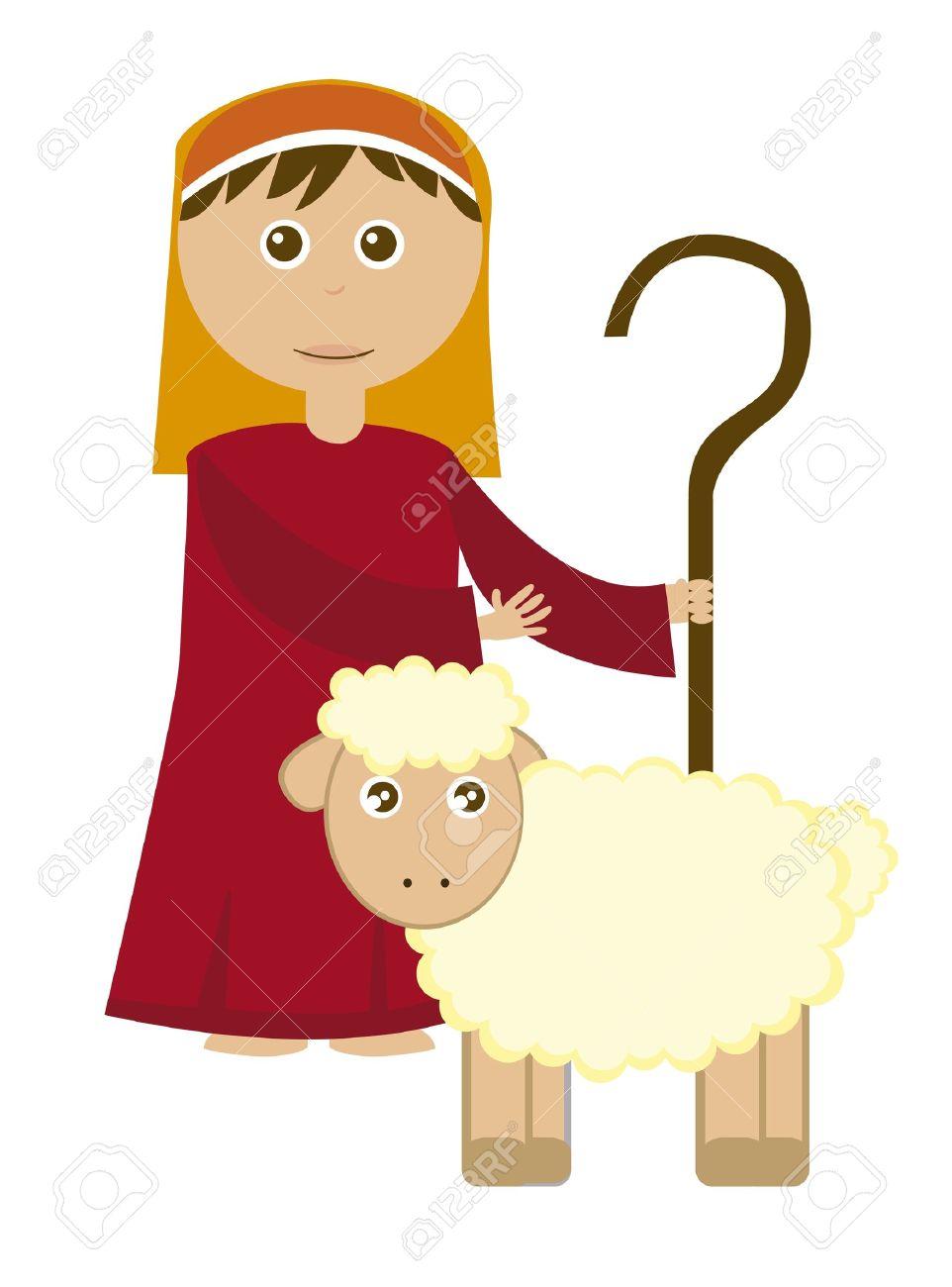 962x1300 Shepherd Boy Clipart Cartoon