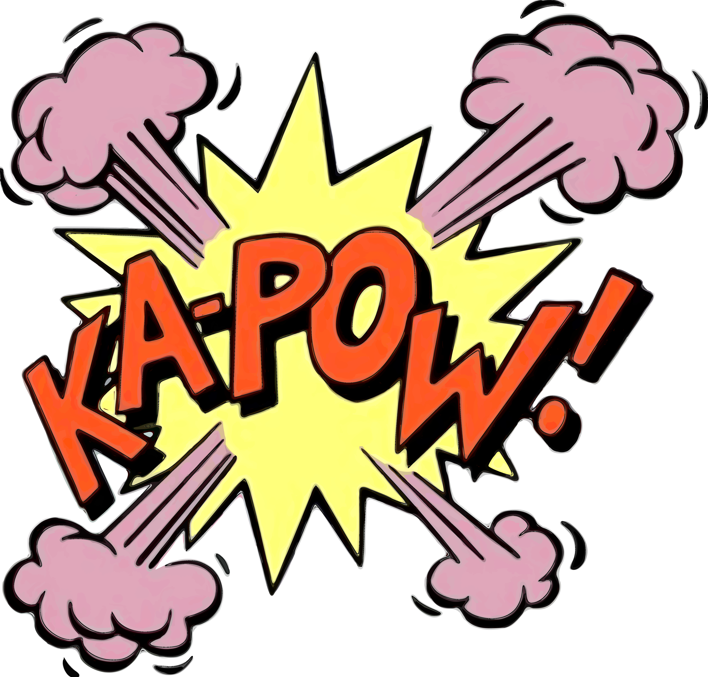 5556x5306 Boom Clipart Kapow