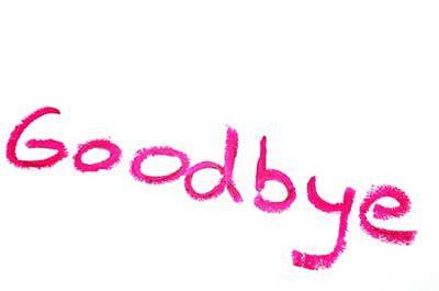 400x265 Goodbye Clip Art Text Photo