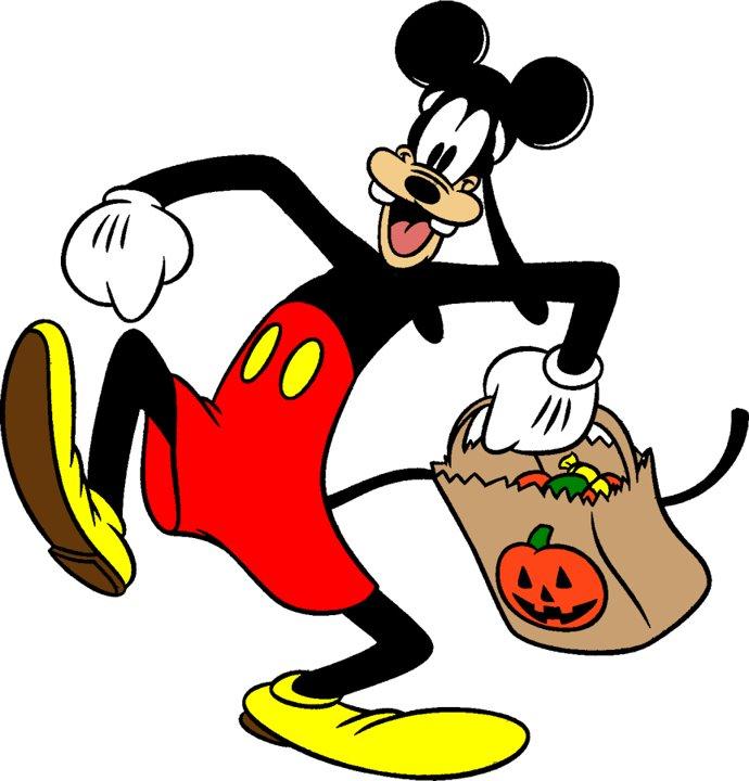 690x720 Disney Goofy Halloween Clipart