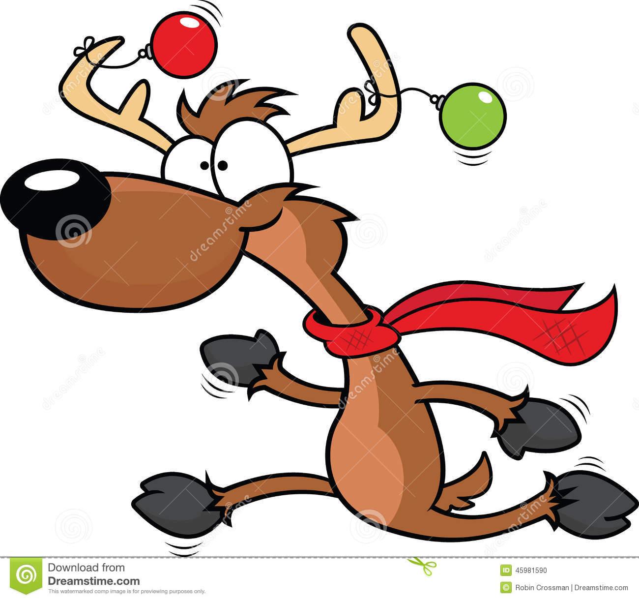 1300x1222 Goofy Reindeer Clip Art Merry Christmas Amp Happy New Year Arts