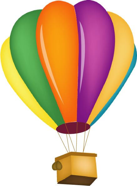 438x592 Opulent Hot Air Balloon Clip Art Free Clipart Google Search