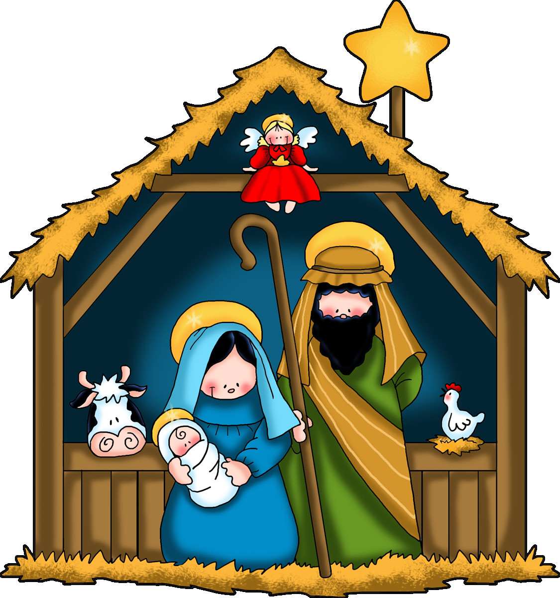 1125x1200 Clipart Of Jesus With Children The Nativity Free Clip Art Google